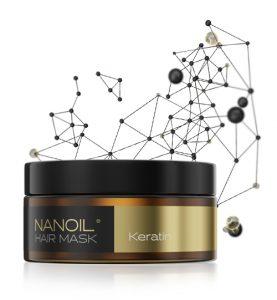Nanoil keratin hair masks