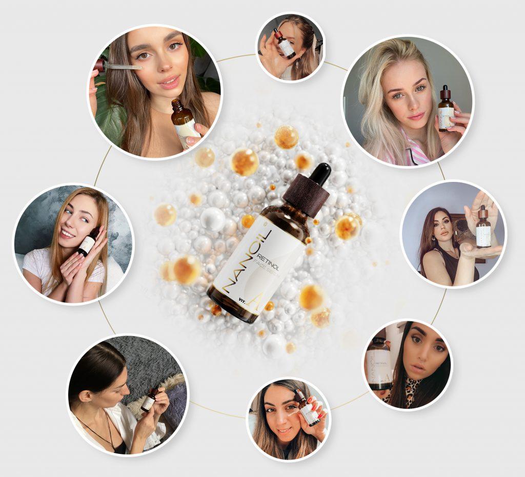 Favorite face serum with retinol Nanoil